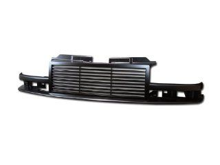 Blk Horizontal Billet Sport Front Grill Grille Abs Chevy S10 Blazer/Pickup Automotive