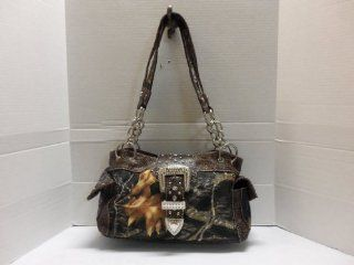 Brown Camo Bling Buckle Purse 154: Everything Else
