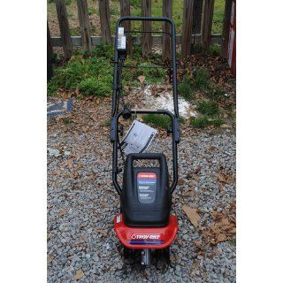 Troy Bilt TB154E 6 Amp Electric Garden Cultivator  Power Tillers  Patio, Lawn & Garden