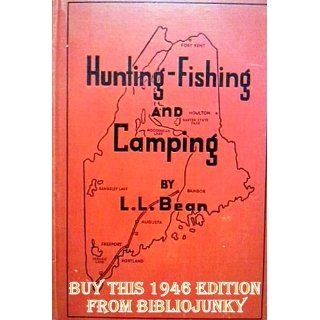 Hunting fishing and camping L. L Bean Books