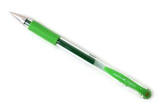 Uni ball Signo UM 151 Gel Ink Pen   0.38 mm   Lime Green: Office Products