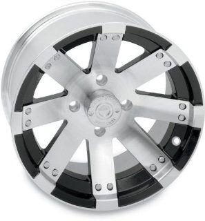 Vision Wheel Type 158 Buck Shot Rear Wheel   14x8   4+4 Offset   4/115   Machined , Wheel Rim Size 14x8, Rim Offset 4+4, Bolt Pattern 4/115, Color Machined, Position Rear 158148115BW4 Automotive