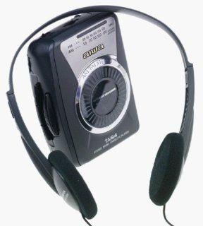 Aiwa HSTA164 Headphone Radio Cassette Player: MP3 Players & Accessories