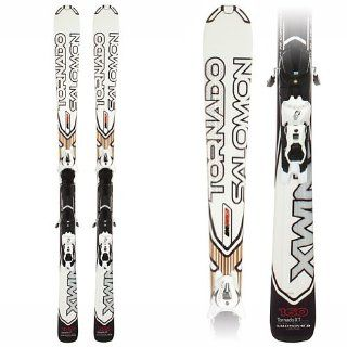 Salomon Tornado XT Skis with Z12 B80 Bindings 168cm: Sports & Outdoors