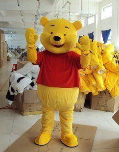 Winnie The Pooh cartoon Character Costume: Health & Personal Care