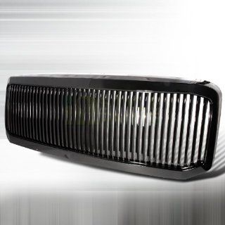 2005 2007 Ford F250 Vertical Grill Black: Automotive