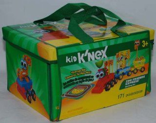 Kid K'Nex Zoo Friends Express Building Set   171 Pieces: Toys & Games