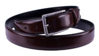 Stacy Adams 6 178 Leather Mens Adjustable Belt (40, Cognac): Clothing