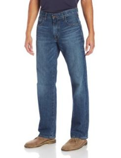 Lucky Brand Men's 181 Relaxed Straight Leg Jean in Dellwood: Clothing