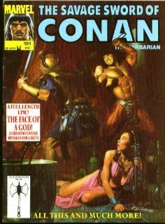 SAVAGE SWORD of CONAN the BARBARIAN #181 Marvel comic magazine 1 1991: Collectibles & Fine Art