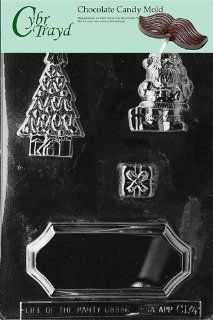 Cybrtrayd C174 Christmas Chocolate Candy Making Mold, Christmas Centerpiece: Kitchen & Dining