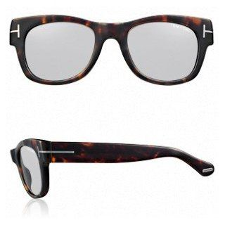TOM FORD CARY TF58 182 DARK HAVANA SMOKE LENS PLASTIC SUNGLASSES: Clothing