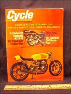 1975 75 November CYCLE Magazine (Features: Road Test on Can Am 175 MX 2, BMW R75 / 5, & Yamaha RS 100C + Laguna Seca & Bonneville): Cycle: Books