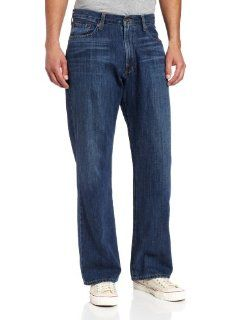 Lucky Brand Men's 181 Relaxed Straight Leg Jean in Ol Downtown Hipster, Ol Downtown Hipster, 31x30 at  Men�s Clothing store