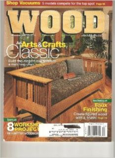 Wood Magazine (December/January 2007/2008)(Vol 24, No 7, Issue 181): Bill Krier: Books