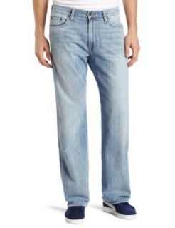 Lucky Brand Men's 181 Relaxed Straight in Ol Refugio, Ol Refugio, 33x32: Clothing