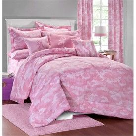 Browning Buckmark Camo Pink Bedding by Kimlor