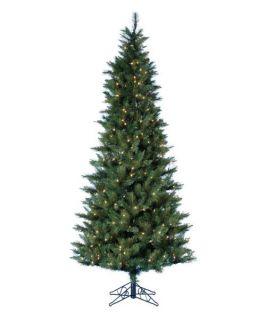 4.5 ft. Classic Green Pre lit Christmas Tree with Metal Base   Christmas Trees