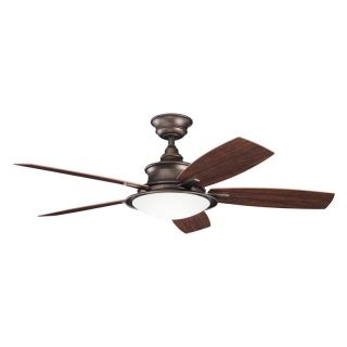 Kichler 310104WCP Cameron 52 in. Indoor Ceiling Fan   Weathered Copper Powder Coat   Ceiling Fans