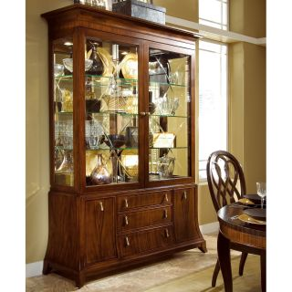 American Drew Bob Mackie Signature China Cabinet   Dining Accent Furniture