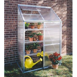 Juliana Lean To 4.25 x 6.4 Foot Mini Greenhouse Kit   Greenhouses