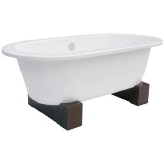 Schon Contemporary Leg 66 Inch Cast Iron Freestanding Tub   Freestanding Tubs