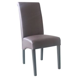 4D Concepts Sleek High Back Parson Dining Chair   Dining Chairs