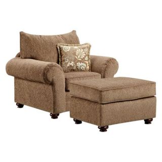 Chelsea Home Maya Bark Kelly Chair   Upholstered Club Chairs