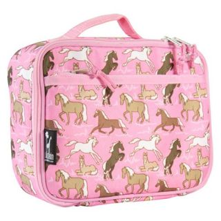 Wildkin Horses in Pink Lunch Box   Kids Luggage & Bags
