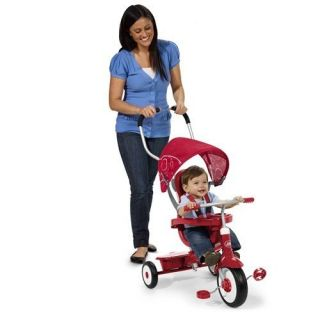 Radio Flyer 4 in 1 Trike   Red   Pedal Toys