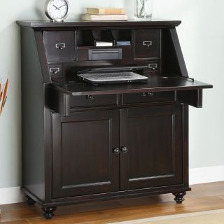 Whalen Hampton Bay Drop Lid Secretary Desk   Computer Armoires