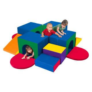 ECR4KIDS SoftZone Tunnel Maze Soft Play   Soft Play Equipment