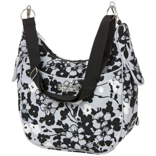 Bumble Collection Chloe Convertible Cruiser Diaper Bag in Evening Bloom   Tote Diaper Bags
