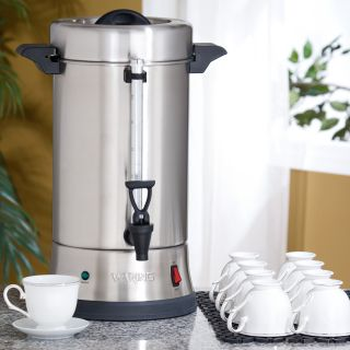 Waring 55 Cup Stainless Steel Coffee Urn CU 55   Coffee Makers