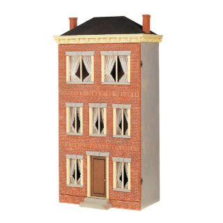 Real Good Toys Franklin Street in Brick Dollhouse   Collector Dollhouse Kits
