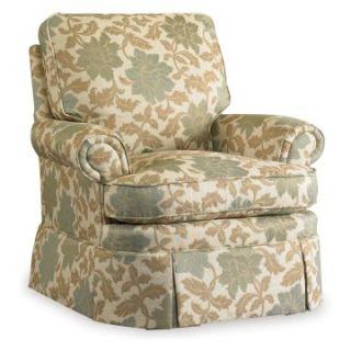 Sam Moore Brookville Swivel Glider   Estrella Natural   Upholstered Club Chairs