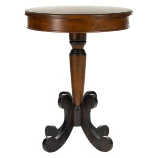 Safavieh Jennifer Side Table   Dark Brown   End Tables