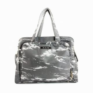 Ju Ju Be Be Prepared Diaper Bag   Mister Gray   Tote Diaper Bags