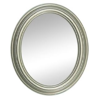 Hitchcock Butterfield Traditions Series Oval Wall Mirror   770   Pewter   Wall Mirrors