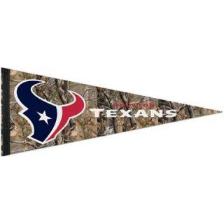 Houston Texans 12 x 30 Real Tree Camo Premium Pennant
