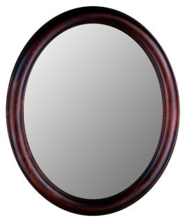 Hitchcock Butterfield Premier Series Oval Wall Mirror   771   Cherry   Wall Mirrors