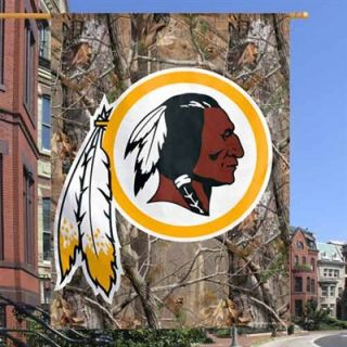 Washington Redskins 27 x 37 Realtree Camo Vertical Banner Flag