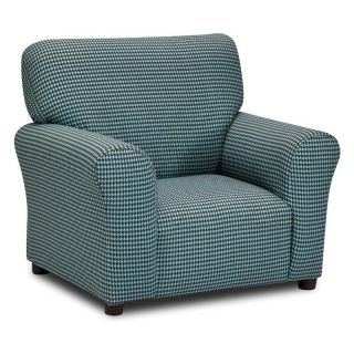 Kidz World Houndstooth/French Blue Club Chair   Chairs