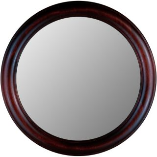 Hitchcock Butterfield Rounds Series Round Wall Mirror   772   Cherry   Wall Mirrors