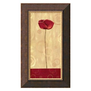 Pop Art Poppies II Canvas Wall Art by Daphne Brissonnet   Framed Wall Art