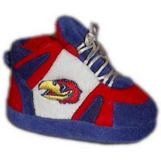 Comfy Feet NCAA Baby Slippers   Kansas Jayhawks   Kids Slippers