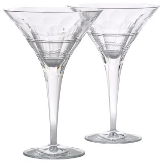 Thomas OBrien Darby Martini Glass Set of 2   Stemware