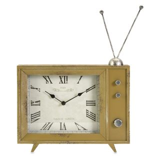 Garrett Retro TV Desktop Clock   Desktop Clocks