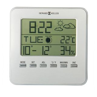 Howard Miller 645 693 Weather View Desktop Clock   Desktop Clocks