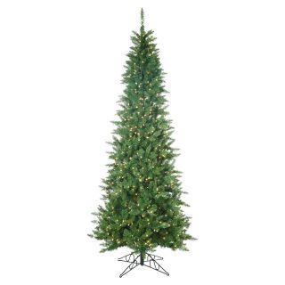 Pre Lit Narrow Nordic Fir Christmas Tree   Christmas Trees